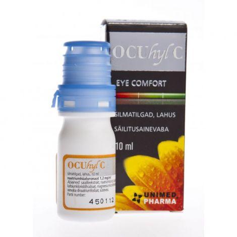 Ocuhyl C acu pilieni 10ml