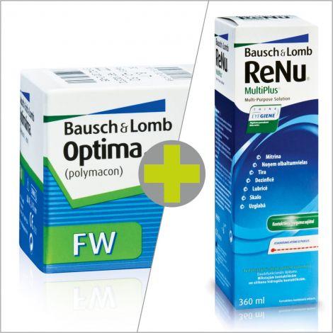Optima FW (4) + ReNu MultiPlus 360ml