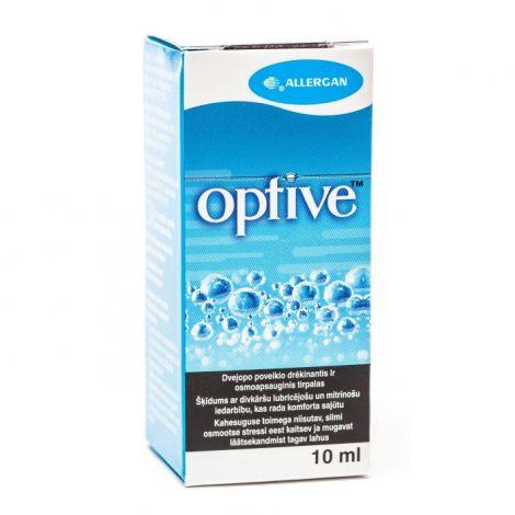 Optive Dual Action acu pilieni 10 ml
