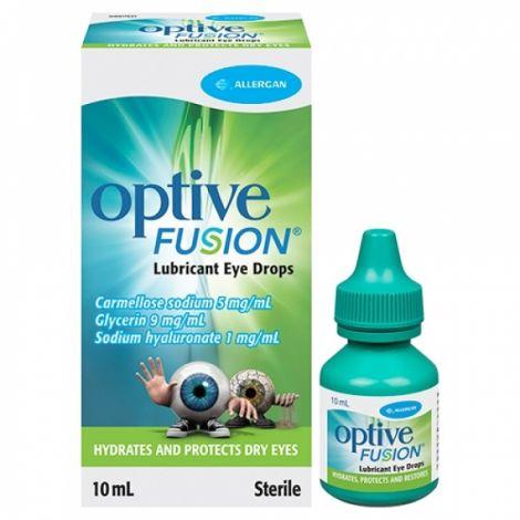 Optive Fusion acu pilieni 10 ml