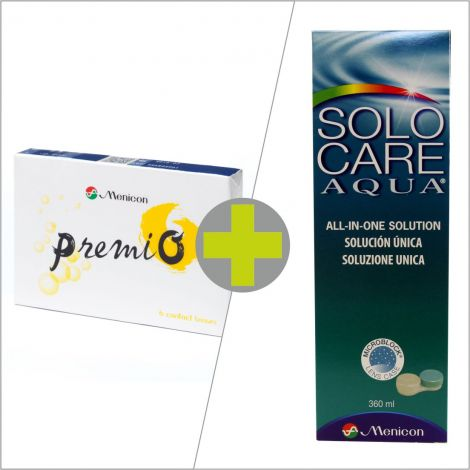 Premio (6) + Solo care Aqua 360 ml